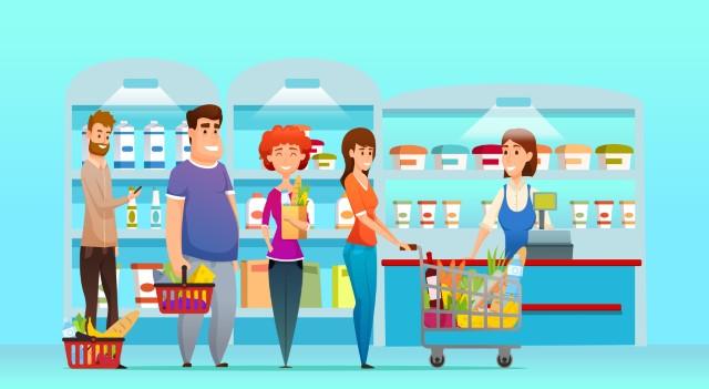 types of retail