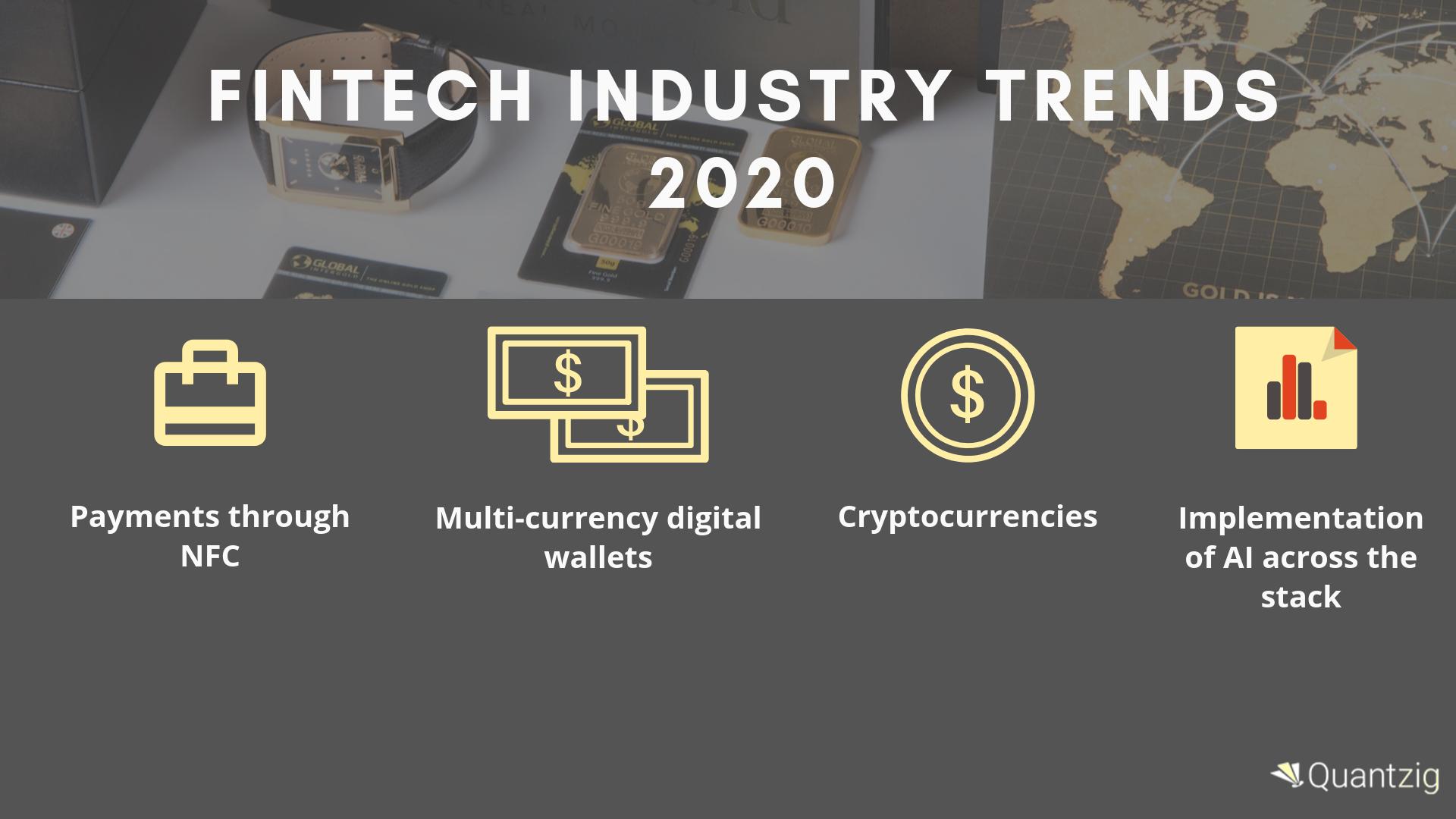 Fintech Industry Trends 2020